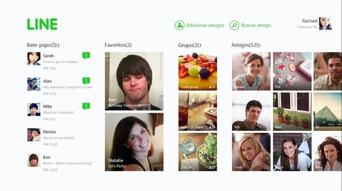 Line é um popular aplicativo de mensagens disponível para diversas plataformas e Windows 10 (Foto: Divulgação/Windows Store)