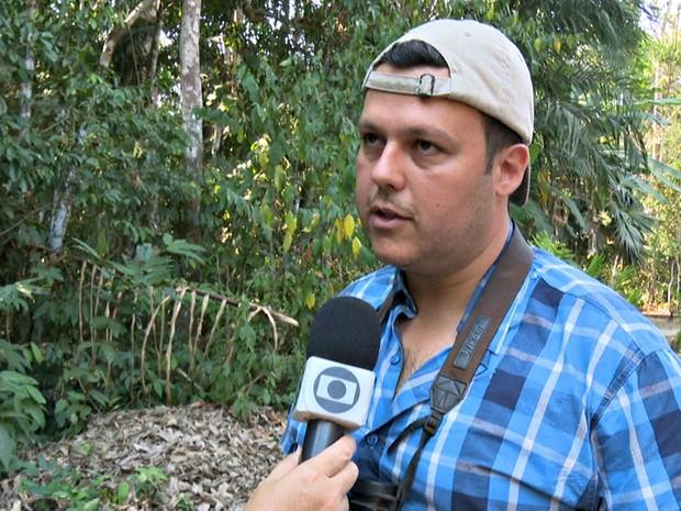 Ornitólogo diz que algumas espécies de aves só podem ser encontradas na Região Norte (Foto: Reprodução/Rede Amazônica Acre)