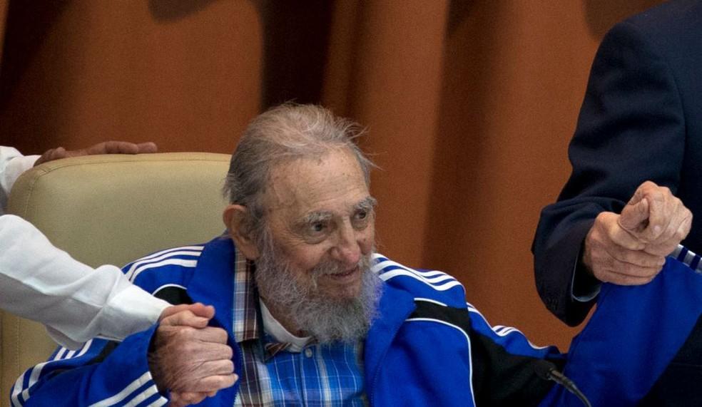 Fidel Catro em abril de 2016 (Foto: Ismael Francisco/Cubadebate via AP)