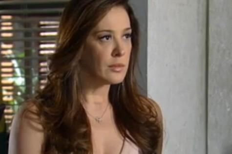 Lívia achará que matou Helô, mas cairá em emboscada da delegada (Foto: Reprodução)