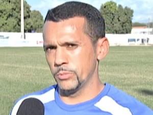 Jogador Ronaldo Ortega é pastor e é propagador da fé no clube (Foto: Reprodução/TVCA)