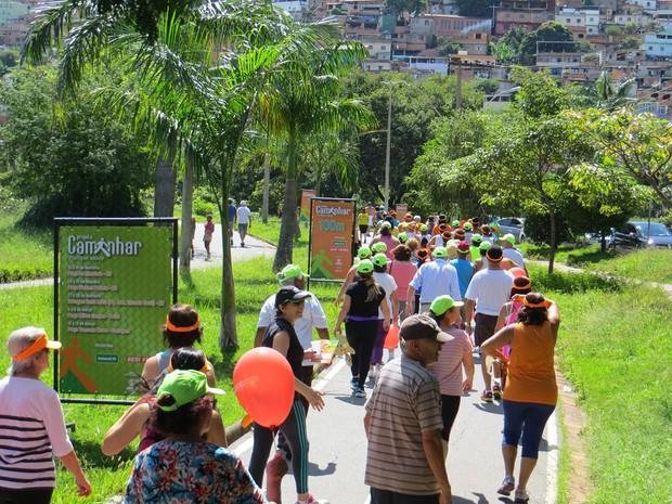 Projeto Caminhar fez mais de 1,7 mil atendimentos no terceiro fim de semana.  (Foto: Gil Canaã/Divulgação)