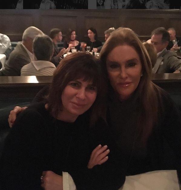 Caitlyn Jenner e Margaret Weitzman (Foto: Reprodução)