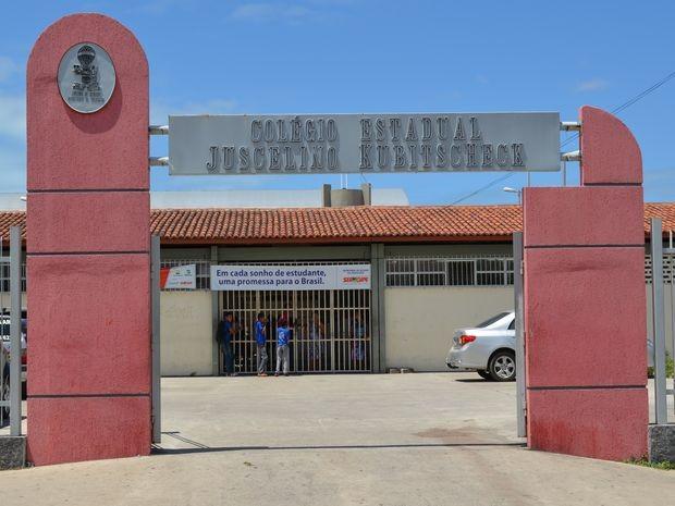 Escola foi reformada, mas parte das benfeitorias já foi destruída (Foto: Marina Fontenele/G1 SE)