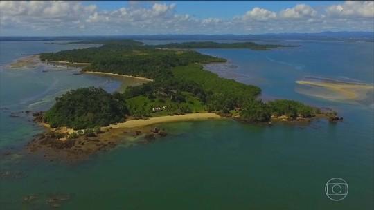 Baía de Camamu concentra 63 ilhas