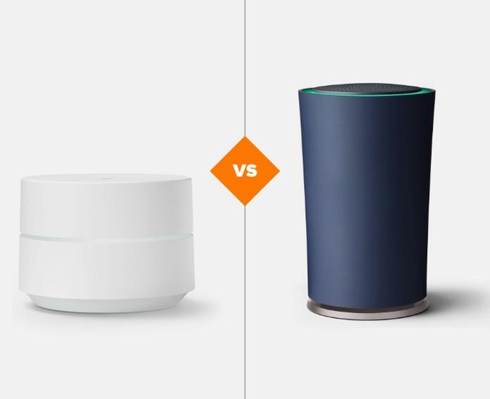Google Wifi ou Google OnHub? Conheça as diferenças entre os roteadores (Foto: Arte/TechTudo)