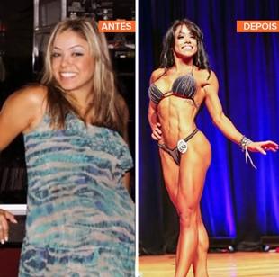 euatleta minha historia Karla Santos antes depois (Foto: Eu Atleta)