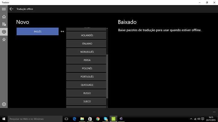 Como usar o Microsoft Translator, rival offline do Google Tradutor