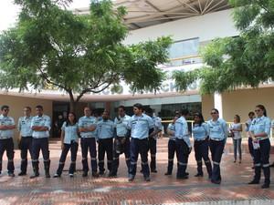 Agentes denunciaram irregularidade de monitoramento na Câmara de Vereadores (Foto: Catarina Costa/G1)