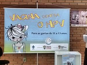 Campanha de Vacinação contra o HPV é direcionada a meninas de 11 a 13 anos (Foto: Carlos Ângelo/RBS TV)
