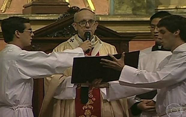 perfil de Bergoglio  (Rede Globo)