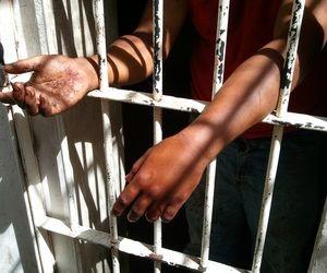 Prisão da Delegacia Planontonista de Aracaju (SE)  (Foto: G1 SE)