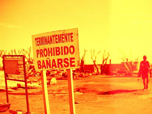 Todas as fotos foram feitas usando filme preto e branco ou Red Scale (Foto: Divulgação/Laís Domingues)