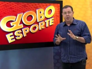 Madson Delano comando o Globo Esporte AL  (Foto: Reprodução/TV Gazeta)