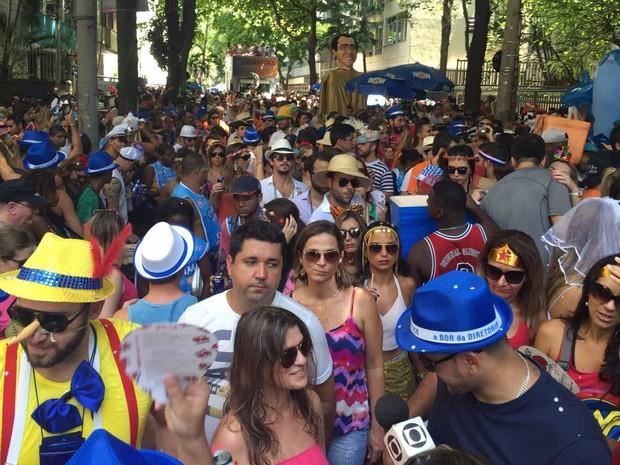 Imaginô Agora Amassa toma as ruas do Leblon (Foto: Leonardo Vieira/Arquivo Pessoal)