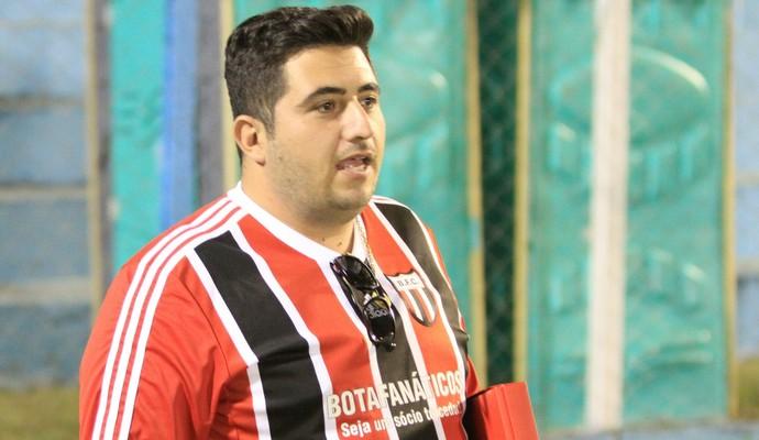 Ary Engracia Garcia Neto, vice-presidente do Botafogo-SP (Foto: Rogério Moroti/Ag. Botafogo)