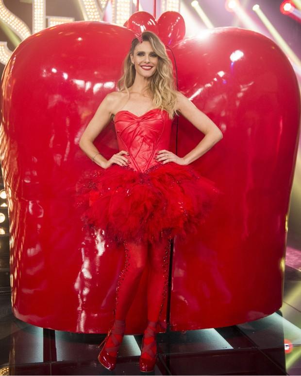Fernanda Lima com o figurino do Amor e Sexo (Foto: Globo / Mauricio Fidalgo)