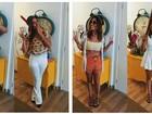 Rubia Baricelli aposta em fantasias criativas para brincar o carnaval