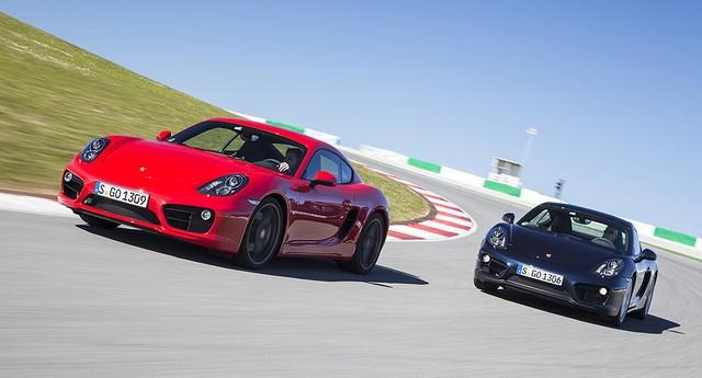 Porsche Cayman (Foto: Divulgação)