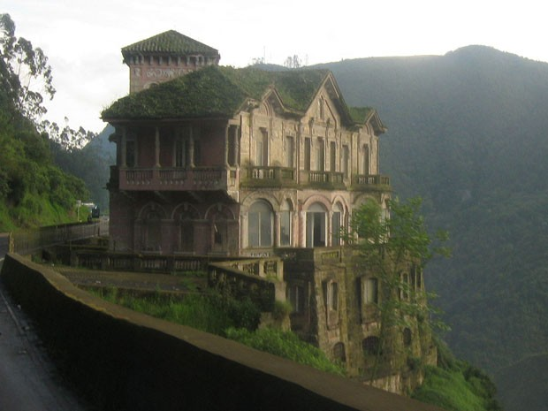 Amado G1 - Antigo hotel que parece casa mal-assombrada vira museu  IR55