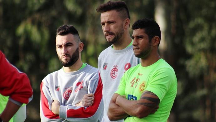 Thiago Silvy Alex Bruno Inter de Lages (Foto: Greik Pacheco/Inter de Lages)