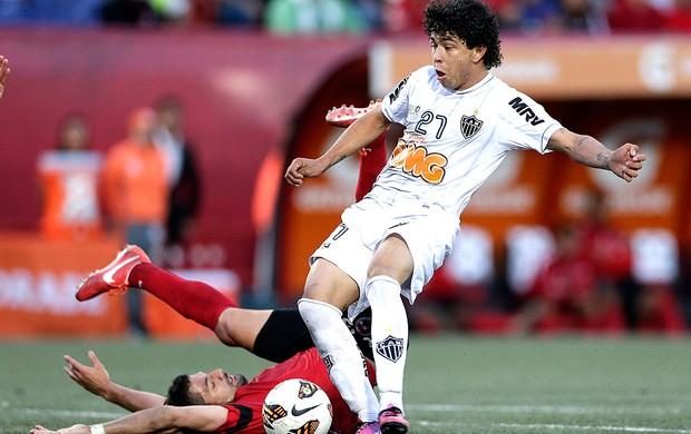 Luan gol Atlético-MG Tijuana (Foto: AP)