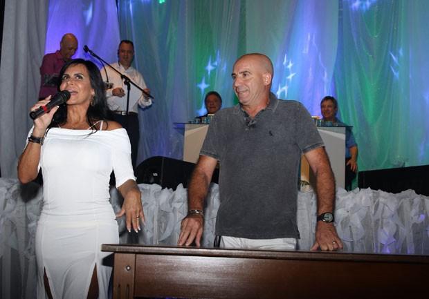 Gretchen e o marido Carlos (Foto: Reprodução Instagram)