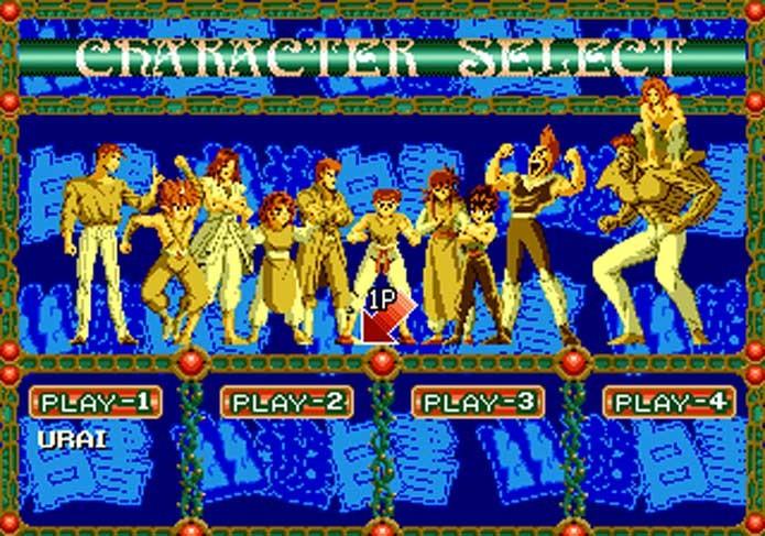 Yu Yu Hakusho também teve versão nacional no Mega (Foto: Reprodução/Sega Archives)