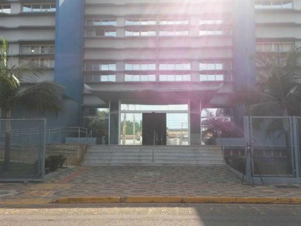 Superintendência da Polícia Federal, em Campo Grande.  (Foto: Daniele Escher/TV Morena)