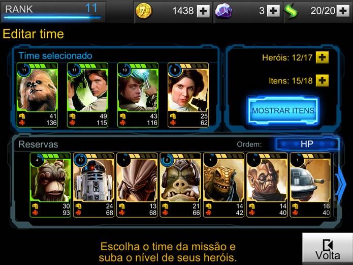 Ilustradas com bastante capricho, as cartas de Star Wars: Assault Team reproduze personagens, equipamentos e armas do universo da franquia (Foto: Reprodução/Daniel Ribeiro)