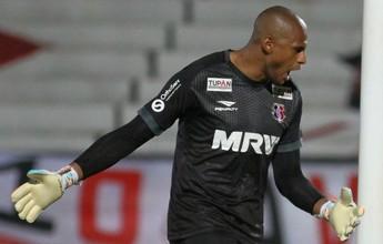 Tiago Cardoso nega falha em gol e explica discussão com Léo Moura