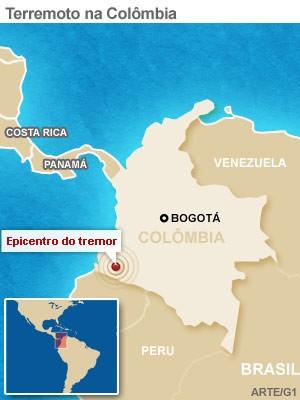 mapa terremoto colombia 9/2 (Foto: 1)