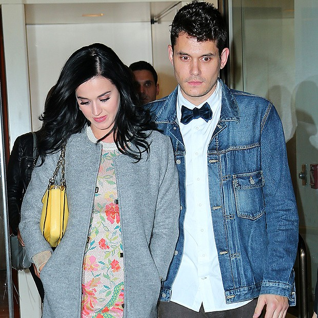 Katy Perry e John Mayer (Foto: Splashnews)