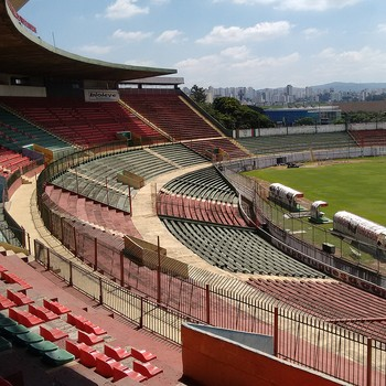 Estádio do Canindé - Portuguesa (Foto: Yan Resende)