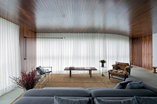 Top 15: salas de estar com madeira (Foto: Divulgação )