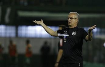 """Dorival admite sofrimento do Santos, mas diz: """"Soubemos suportar"""""""