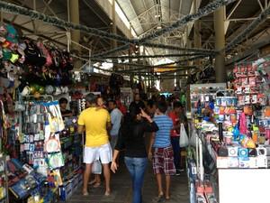 Comércio de Roraima recebe mais segurança neste fim de ano  (Foto: Jackson Félix/G1 RR)