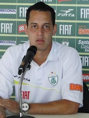 Rodriguinho, meia do América-MG (Foto: Leonardo Simonini / Globoesporte.com)