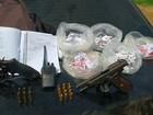 PM realiza operação em Cabo Frio, RJ, para apreender drogas e armas