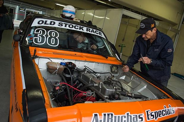 O Old Stock #38 dos pilotos Vinícius Pimentel e Rodrigo Leite (Foto: Divulgação/Humberto Silva)