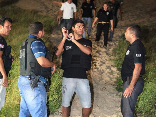 Jhonathan de Sousa Silva, 24, assassino confesso do jornalista Décio Sá. (Foto: De Jesus/O Estado)