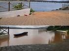Rio Doce atinge nível de inundação em Colatina, ES, após chuvas
