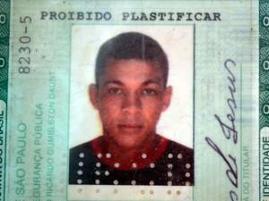 Frederico Alves de Jesus foi morto durante confronto no Bosques do Lenheiro, em Piracicaba (Foto: Fernanda Zanetti/G1)