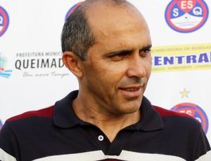 Marizardo Miranda, diretor de futebol da Queimadense (Foto: Magnus Menezes / Jornal da Paraíba)
