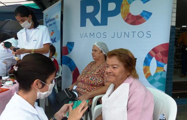 As londrinenses aproveitaram o Dia da Mulher ao lado da RPC (Foto: Divulgação/RPC)