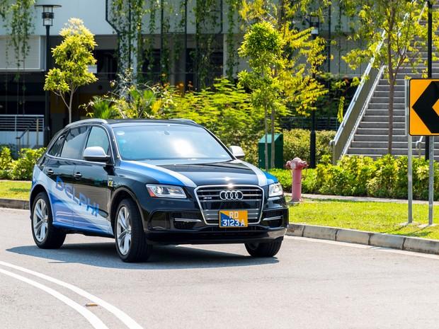 Delphi vai testar carros autônomos em Cingapura (Foto: Divulgação)