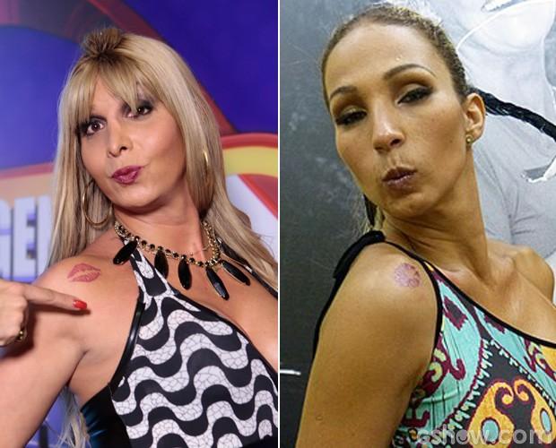 MC Paloma afirma que inspirou a tatuagem de Valesca (Foto: Felipe Monteiro/TV Globo)