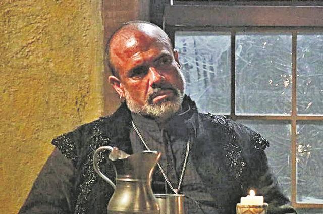 André Mattos numa cena de 'Belaventura', novela de Gustavo Reiz na Record (Foto:  Roger Gobeth)