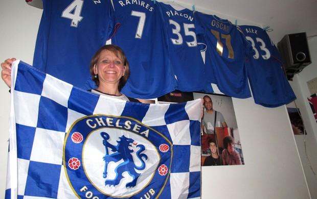Brasileira dona de restaurante Chelsea (Foto: Cahê Mota / Globoesporte.com)