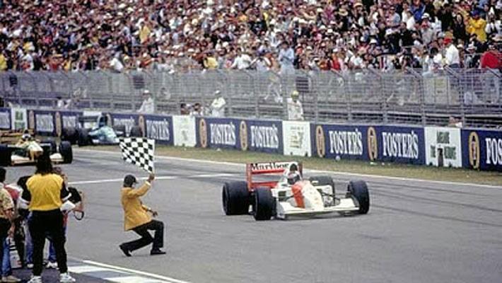 Gerhard Berger Austrália 1992